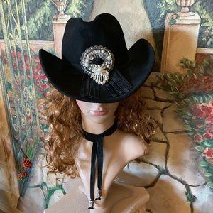 Sonni Western Wool Felt Hat